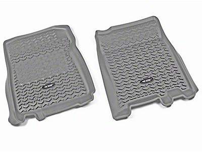 Rugged Ridge All-Terrain Front Floor Liners - Gray (97-03 F-150)