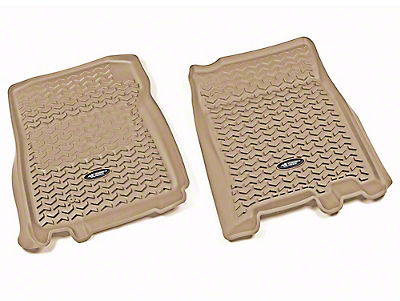 Rugged Ridge All-Terrain Front Floor Liners - Tan (97-03 F-150)