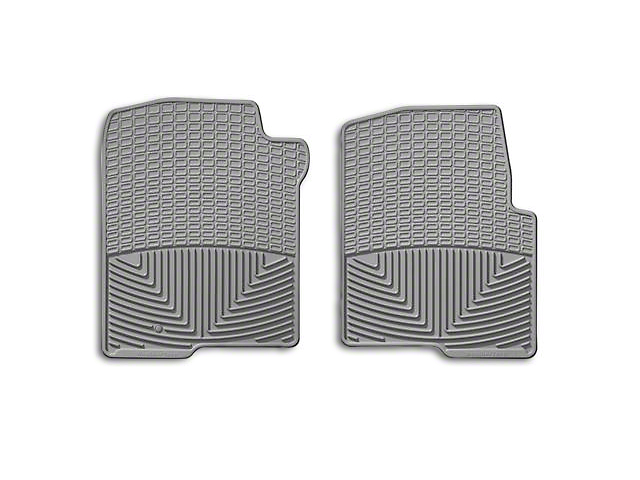 Weathertech All Weather Front Rubber Floor Mats - Gray (04-08 All)