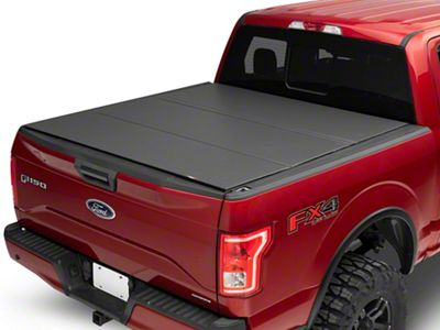 Hf 355 Tonno Pro Hard Fold Hard Folding Truck Bed Tonneau Cover Fits 2009 2014 Ford F 150 55 Bed Truck Bed Tailgate Accessories Automotive