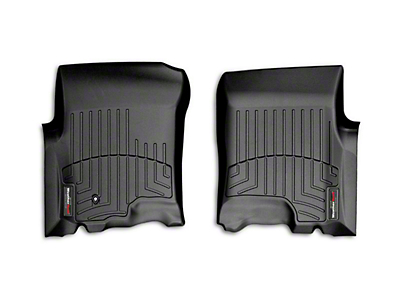 Weathertech DigitalFit Front Floor Liners - Black (01-03 F-150 SuperCrew)