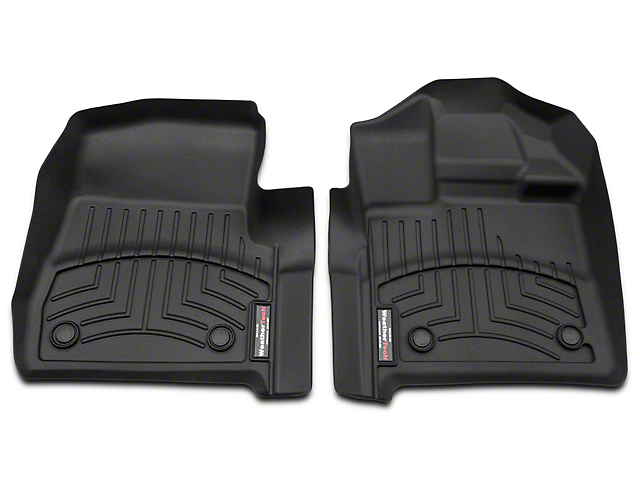 Weathertech DigitalFit Front Floor Liners - Black (15-18 F-150 Regular Cab)