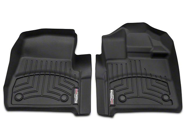 Weathertech DigitalFit Front Floor Liners - Black (15-18 Regular Cab)