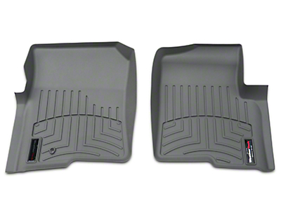 Weathertech DigitalFit Front Floor Liners - Gray (04-08 F-150)