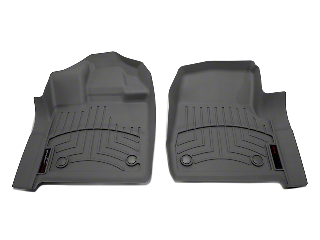 Weathertech DigitalFit Front Floor Liners - Gray (15-18 Regular Cab)