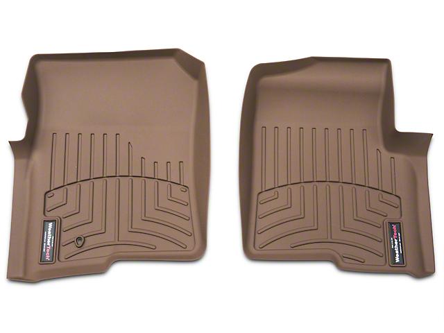 Weathertech DigitalFit Front Floor Liners - Tan (04-08 F-150)