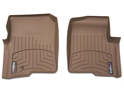 Weathertech DigitalFit Front Floor Liners - Tan (04-08 F-150)