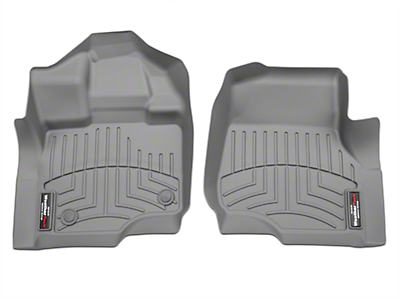 Weathertech DigitalFit Front Floor Liners - Gray (97-03 F-150)