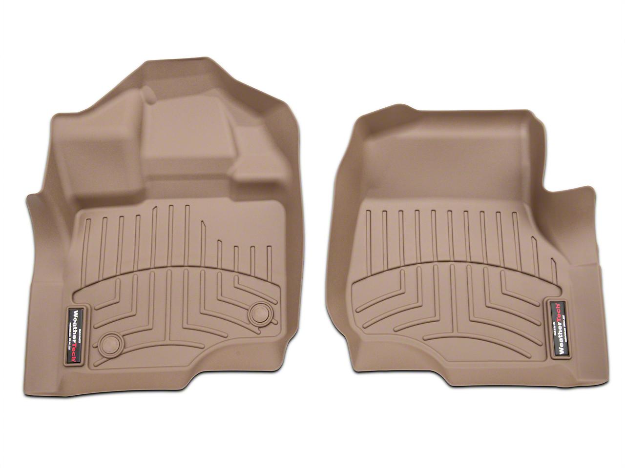 Weathertech DigitalFit Front Floor Liners - Tan (97-03 F-150)