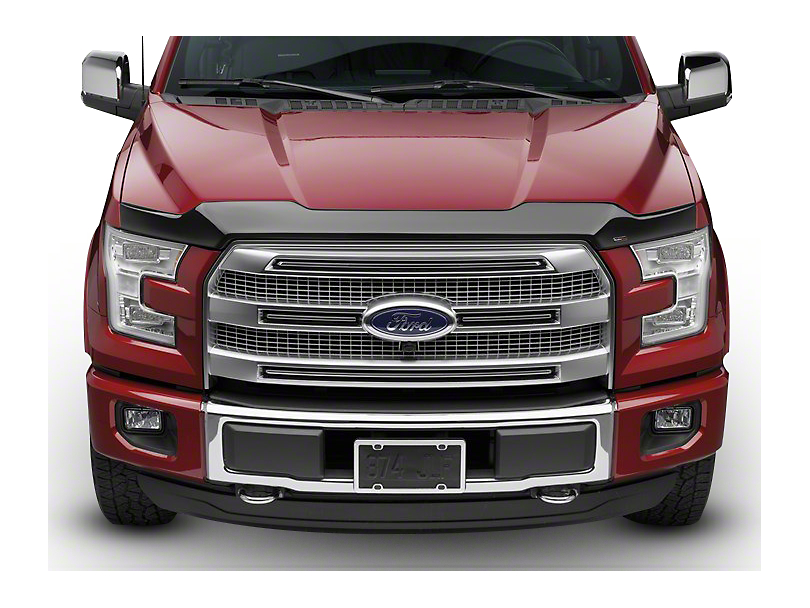 Weathertech Low Profile Hood Protector - Dark Smoke (10-14 F-150 Raptor)