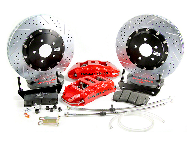 Baer Extreme Front Big Brake Kit - Red Calipers (04-08 2WD/4WD F-150)