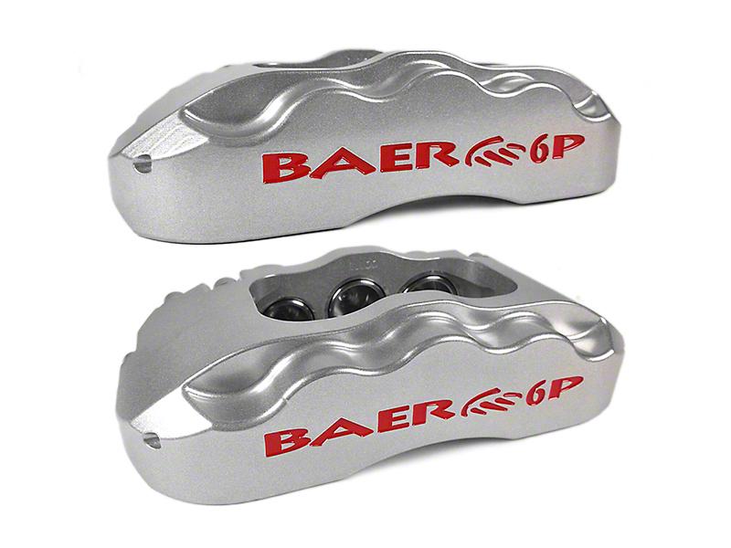 Baer Extreme Front Brake Kit - Silver (04-08 2WD/4WD F-150)