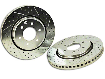 Baer Sport Drilled & Slotted 6-Lug Rotors - Front Pair (04-08 2WD/4WD F-150)