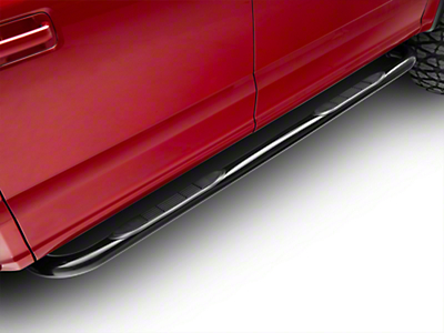Steel Craft 3 in. Blackout Series Side Step Bars (15-18 F-150 SuperCab, SuperCrew)
