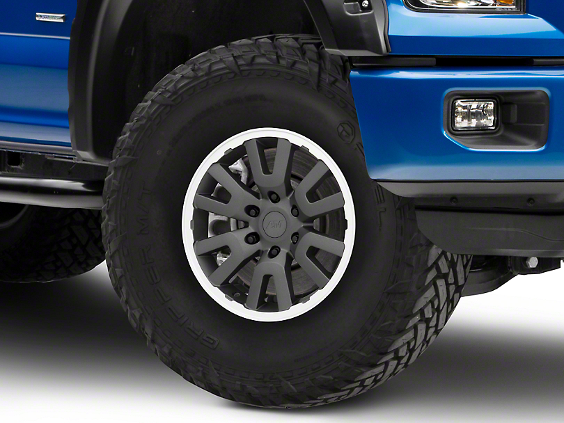 Gen1 Raptor Style Charcoal 6-Lug Wheel - 17x8.5 (04-19 F-150)