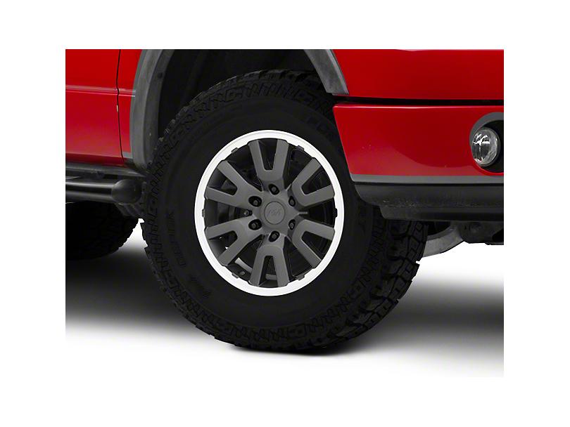 Gen1 Raptor Style Charcoal 6-Lug Wheel - 17x8.5; 34mm Offset (04-08 F-150)