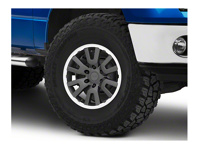 Gen1 Raptor Style Charcoal 6-Lug Wheel - 17x8.5; 34mm Offset (09-14 F-150)