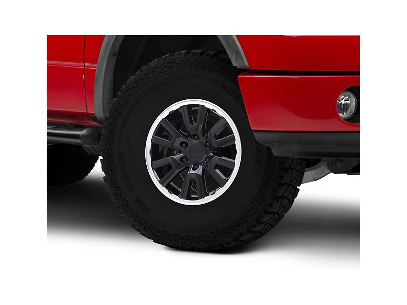 Gen1 Raptor Style Black 6-Lug Wheel - 17x8.5; 34mm Offset (04-08 F-150)
