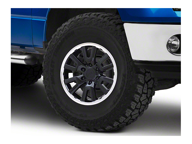Gen1 Raptor Style Black 6-Lug Wheel - 17x8.5; 34mm Offset (09-14 F-150)