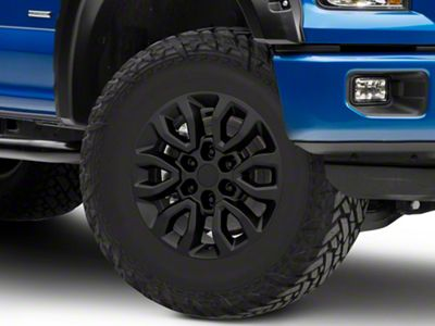 Gen2 Raptor Style Matte Black 6-Lug Wheel - 17x8.5; 34mm Offset (15-19 F-150)