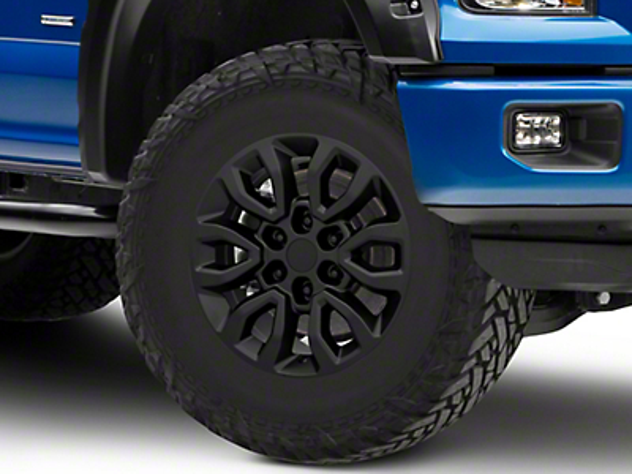 Gen2 Raptor Style Matte Black 6-Lug Wheel - 17x8.5 (04-18 F-150)