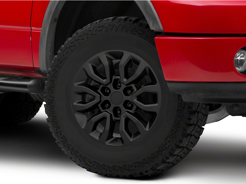 Gen2 Raptor Style Matte Black 6-Lug Wheel - 17x8.5; 34mm Offset (04-08 F-150)