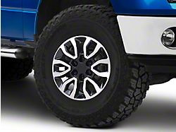 Gen2 Raptor Style Black Machined 6-Lug Wheel - 17x8.5; 34mm Offset (09-14 F-150)