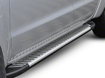 Romik RAL-T Running Boards - Silver (09-14 F-150 SuperCrew)