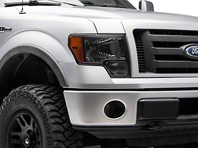 Smoked Headlight, Fog Light & Tail Light Tint (09-14 F-150)