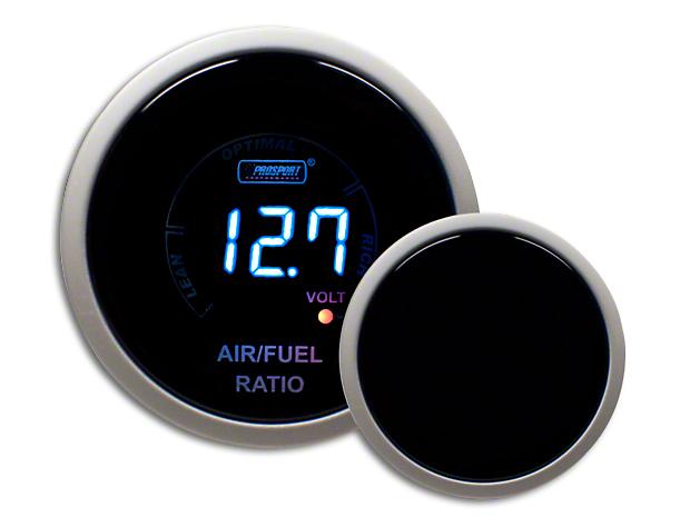 Prosport Digital Blue LCD Air/Fuel & Voltage Gauge - Electrical (97-18 F-150)