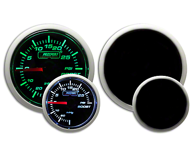 Prosport Dual Color 30 PSI Boost Gauge - Electrical - Green/White (97-18 F-150)
