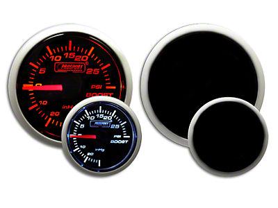 Prosport Dual Color 30 PSI Boost Gauge - Electrical - Amber/White (97-18 F-150)