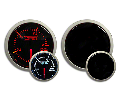 Prosport Dual Color Fuel Level Gauge - Electrical - Amber/White (97-18 F-150)