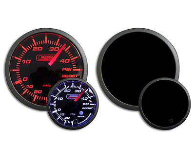 Prosport Dual Color 45 PSI Boost Gauge - Electrical - Amber/White (97-18 F-150)