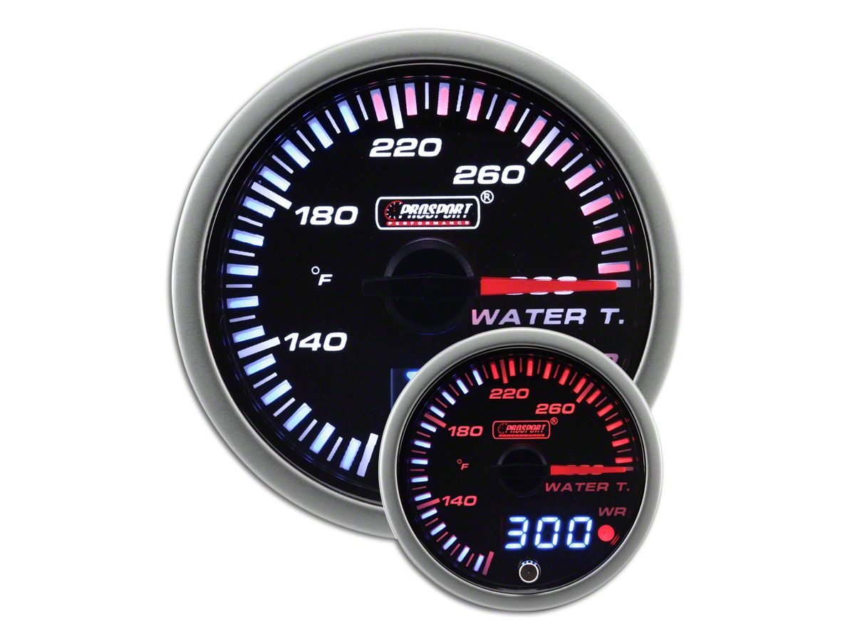Prosport JDM Water Temperature Gauge - Electrical (97-19 F-150)