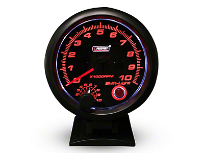Prosport Performance Tachometer w/Shift Light - 3-3/4 in. (97-18 F-150)
