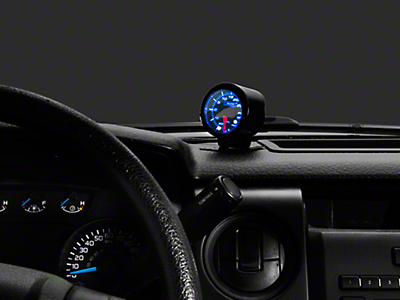 Prosport Dual Color Premium Boost Gauge - Electrical - Green/White (97-19 F-150)