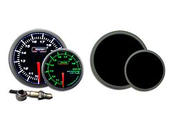 Prosport 52mm Premium Series Wideband Air/Fuel Ratio Gauge; Green/White (Universal; Some Adaptation May Be Required)