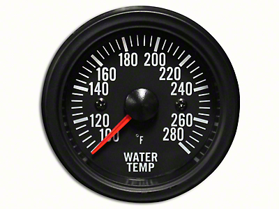 Prosport White LED Water Temperature Gauge - Electrical (97-19 F-150)