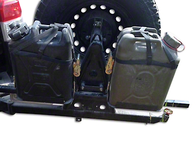 Wilco Offroad Hitchgate Plastic Jerry Can Mounting Kit (97-18 F-150)