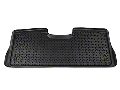 Barricade Rear Floor Liner - Black (15-19 F-150 SuperCrew)