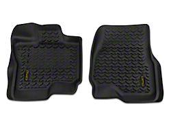 Barricade Front Floor Mats - Black (15-19 F-150)