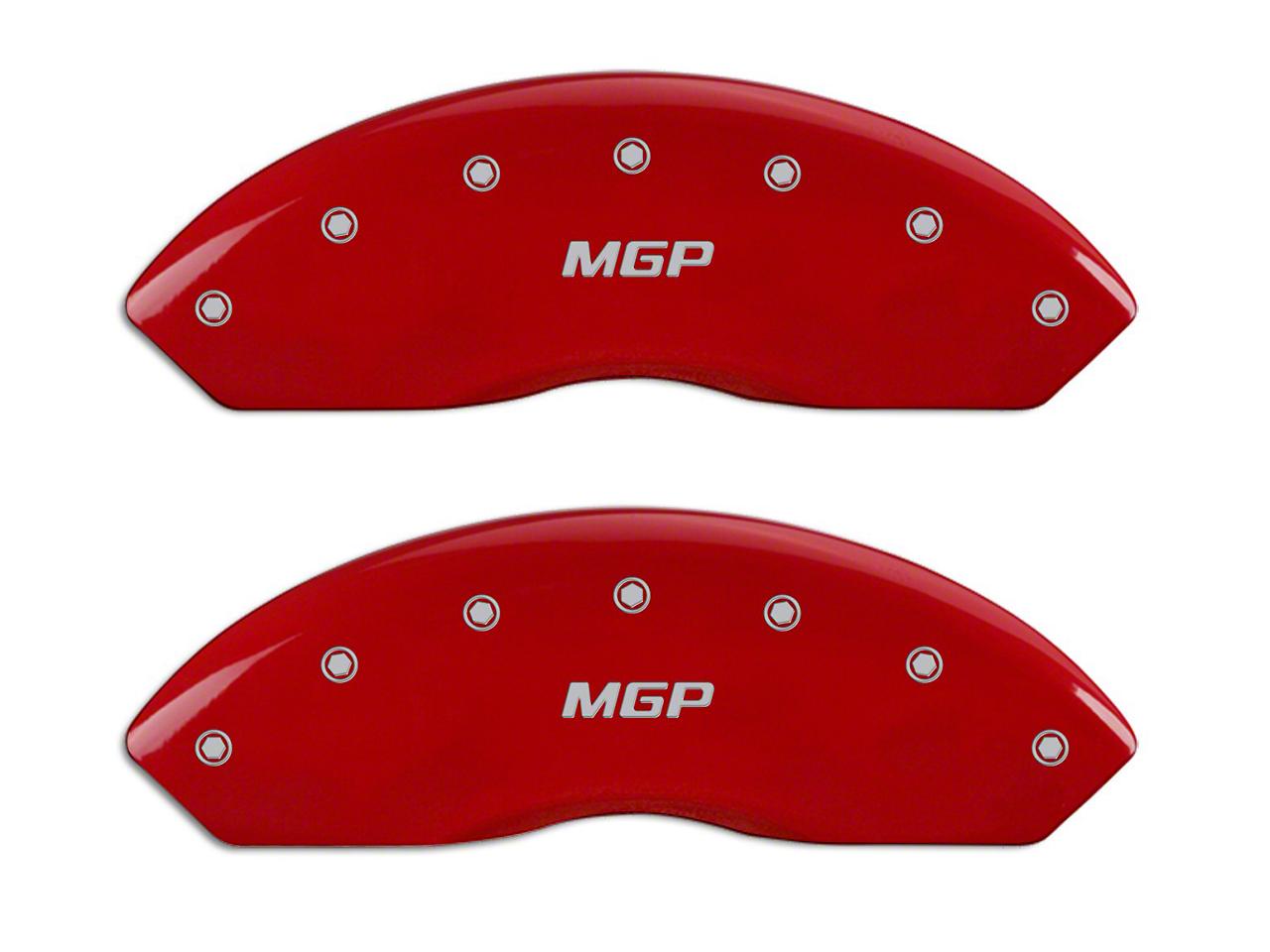 MGP Red Caliper Covers w/ MGP Logo - Front & Rear (99-03 F-150 Lightning)