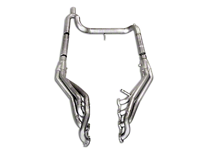 Stainless Works 1-5/8 in. Long Tube Headers w/ Off-Road Y-Pipe - Factory Connect (04-08 4.6L F-150)