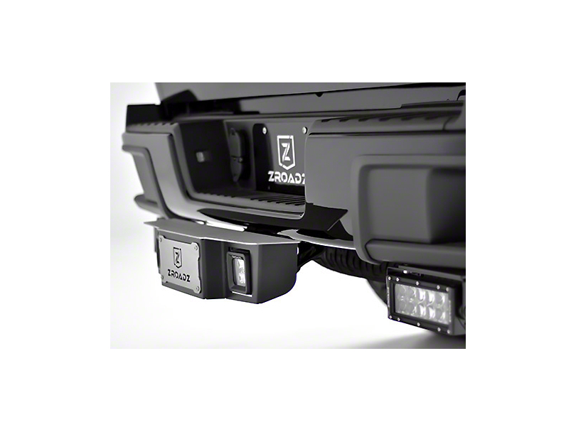 ZRoadz 2 in. Receiver Hitch Step for 3 in. LED Cube Lights (97-19 F-150)