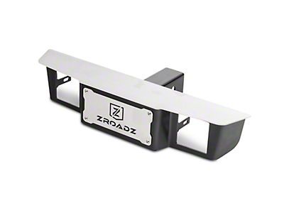 ZRoadz 2.5 in. Receiver Hitch Step for 3 in. LED Cube Lights (97-19 F-150)