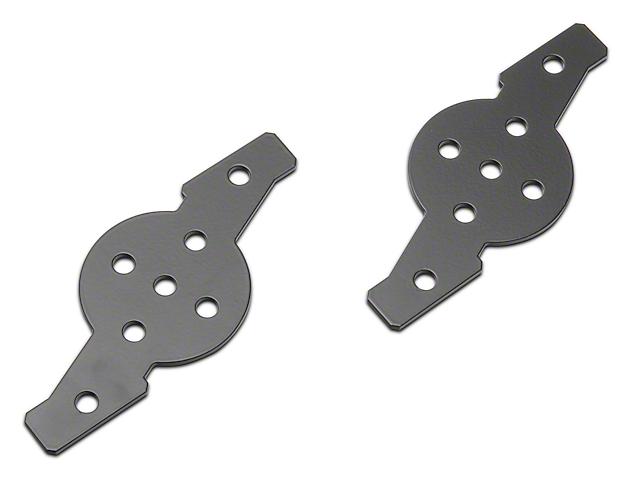 ZRoadz Hood Hinge Dual Pod Adapter Mounting Plate (97-19 F-150)