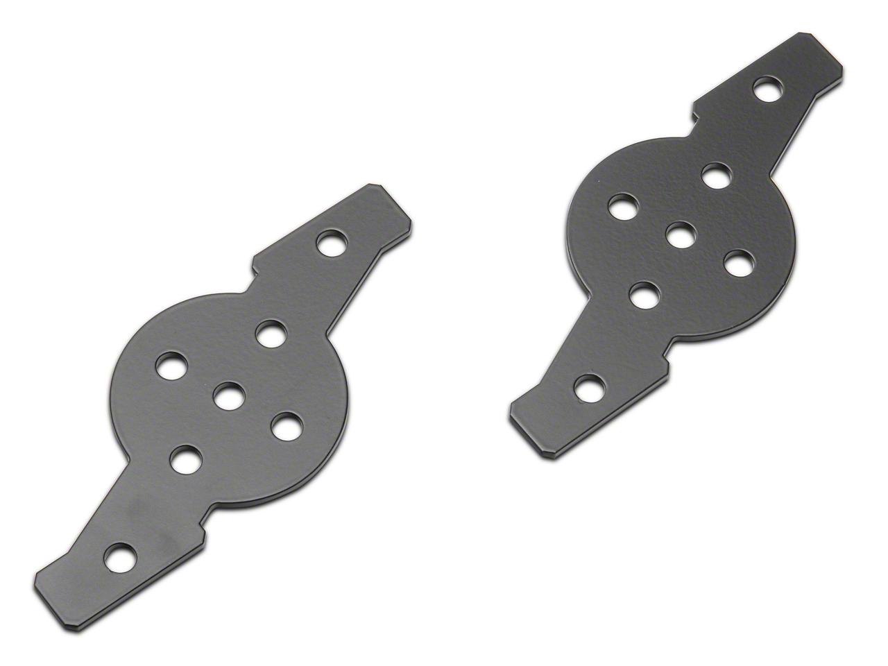 ZRoadz Hood Hinge Dual Pod Adapter Mounting Plate (97-18 F-150)