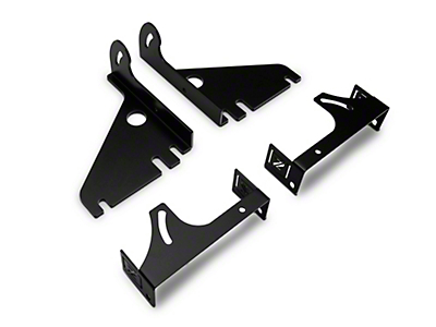 ZRoadz Rear Bumper LED Light Mounting Brackets (15-18 F-150)