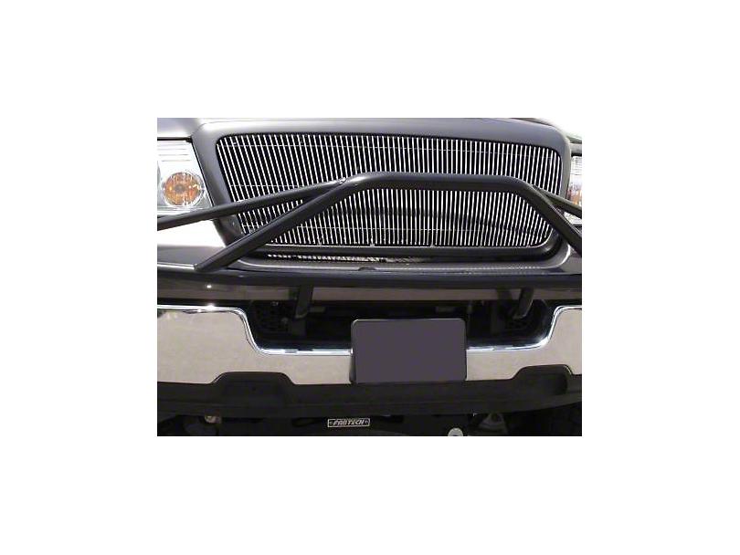 T-REX Billet Series Vertical Upper Grille Insert - Polished (04-08 F-150)